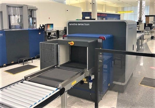 Two state-of-the-art advanced 3D scanners are in use by TSA agents at Austin Straubel International Airport.