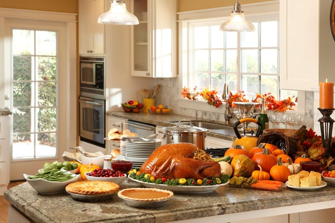 If you're responsible for the turkey, thaw it safely.