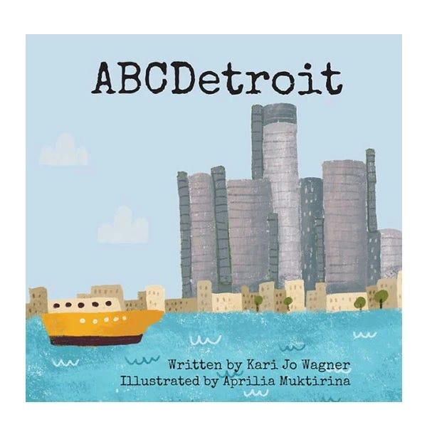 """""""ABCDetroit"""" adalah ide hadiah yang menyenangkan untuk anak-anak lokal."""
