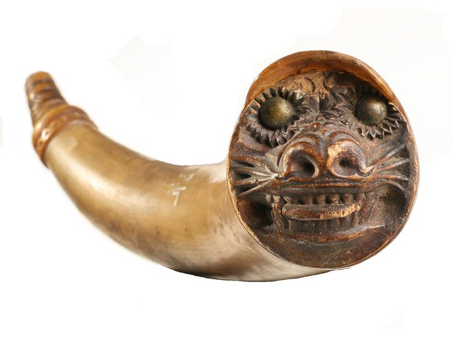 This historic powder horn, which belonged Stockbridge-Munsee Sachem John W. Quinney who was instrumental in the tribe's survival and its move to Wisconsin, was recently returned to the tribe by the Oshkosh Public Museum after more than 80 years.