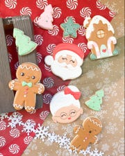 Goody Two Chews holiday cookies make great gifts and take the work out of Christmas cookie exchanges.