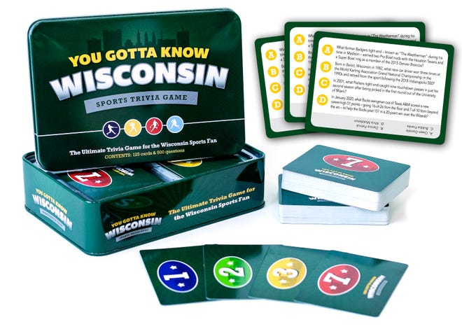 'You Gotta Know Wisconsin' sports trivia is available for $19.95 this holiday season.