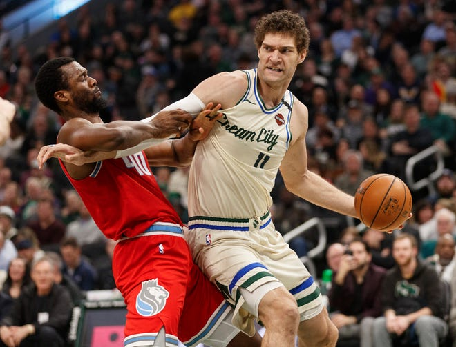 "Brook Lopez and the Bucks wore ""Cream City"" across their chest for some games last season. What's in store for their ""City Edition"" jersey in 2020-21?"