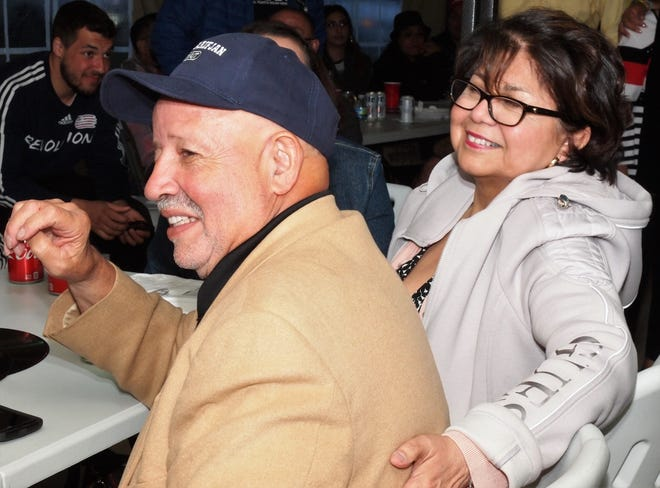 Emilio Lopez is seen at a friend's birthday party. Lopez was instrumental in starting various youth sports programs and other community service initiatives in the Milwaukee Latino community.