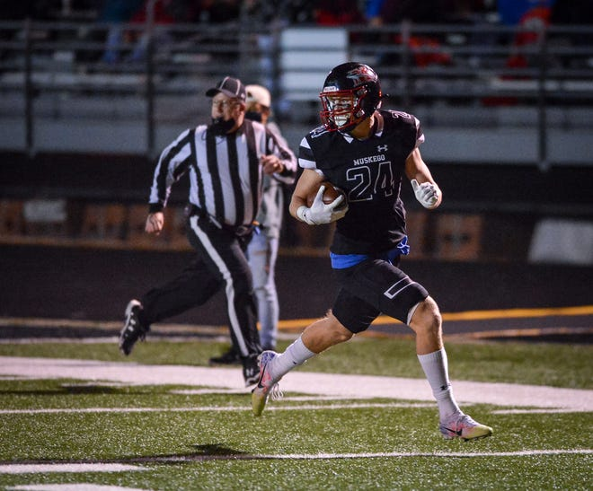 Muskego defensive back Hunter Wohler was voted Associated Press state player of the year for the second consecutive season.