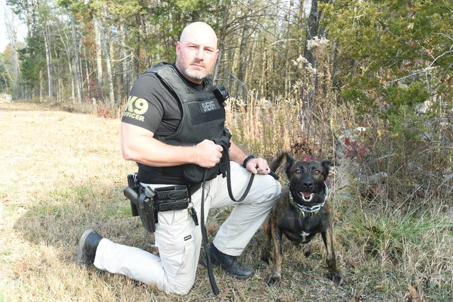 Marion County deputy Brett Castle and his canine partner Rico have been on the streets for two months. Rico has in that time, tracked down a fleeing domestic violence suspect, chased down a man fleeing on foot after a vehicle pursuit and detcted drugs during more than one traffic stop.