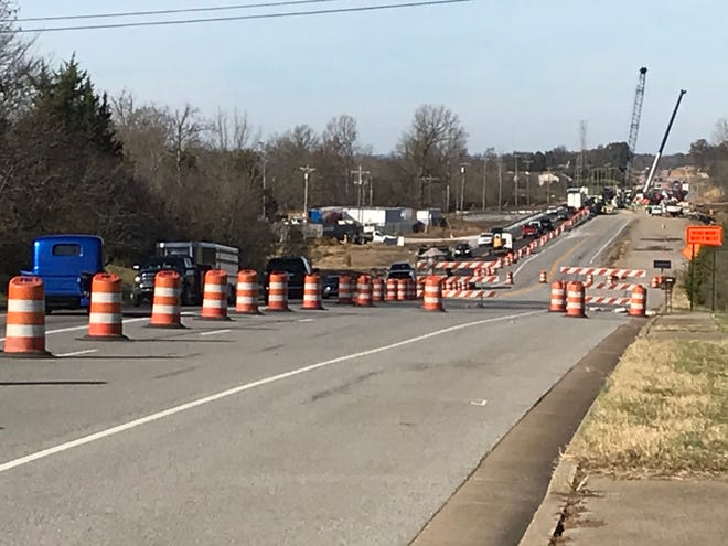 Work continues on State Route 109 in Wilson County is nearing completion.