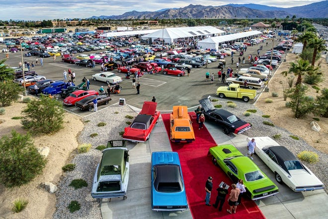 One of the best outdoor events on wheels-- the McCormick car sale -- will be held Nov. 20-22 at the Palm Springs Convention Center.
