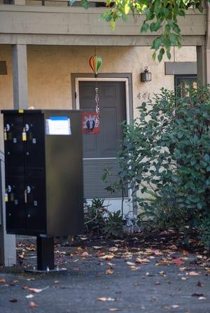 The outside of Debra Barber's home in Sonoma, Calif., on Thursday, Nov. 19, 2020.