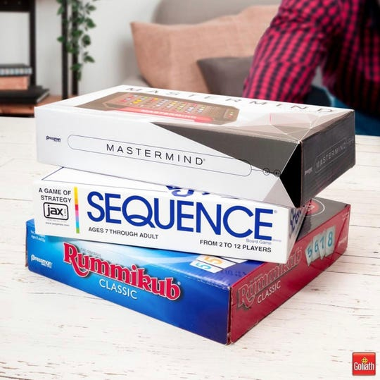 Round after round of Mastermind, Sequence and Rummikub ( can entertain kids and parents this winter.