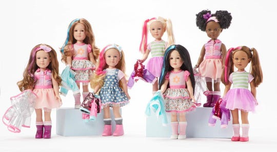 Kindness Club dolls