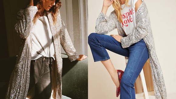 Best gifts from Anthropologie: Duster Jacket