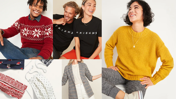 These are some of the most popular items you can buy at Old Navy.