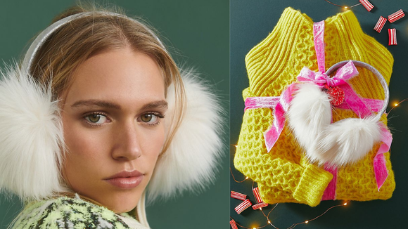 Best gifts from Anthropologie: Faux Fur Earmuffs