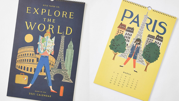 Best gifts from Anthropologie: Calendar