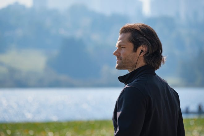 """Sam Winchester (Jared Padalecki) found time for a run in the series finale of """"Supernatural."""""""
