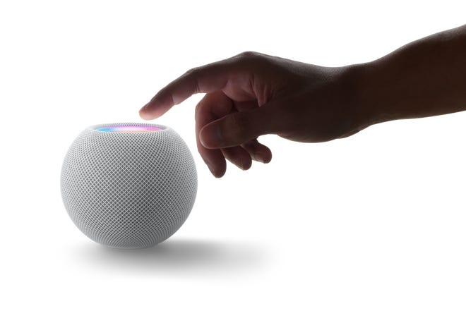Smart speakers, like Apple's HomePod mini ($99), are ideal for getting recipes, setting timers, listening to music or making free phone calls.