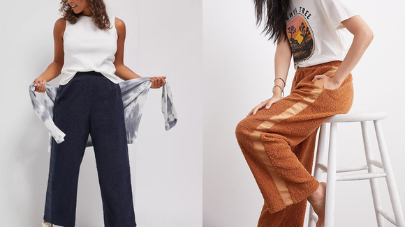Best gifts from Anthropologie: Wide-Leg Pants