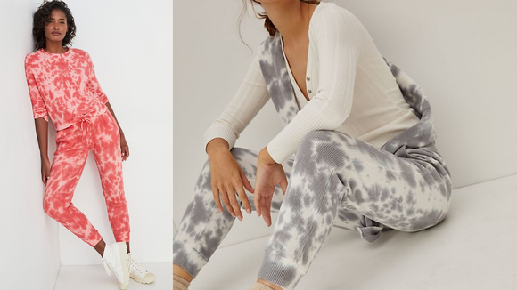 Best gifts from Anthropologie: Tie-Dye Joggers