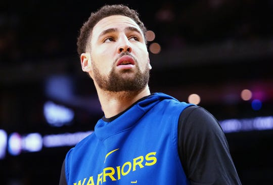 Klay Thompson has not played in an NBA game in 17 months