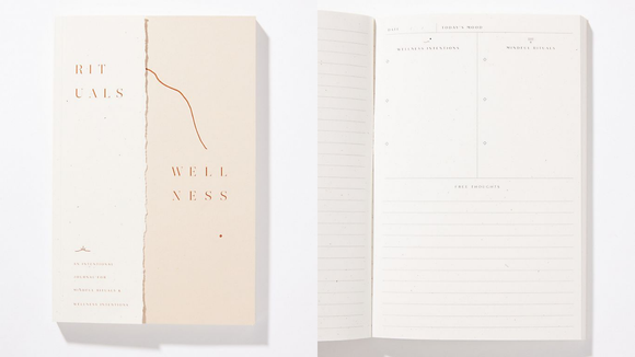 Best gifts from Anthropologie: Wellness journal