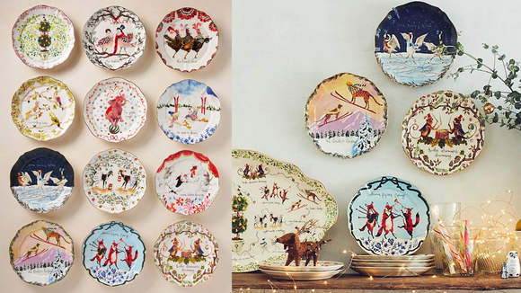 Best gifts from Anthropologie: Dessert Plates
