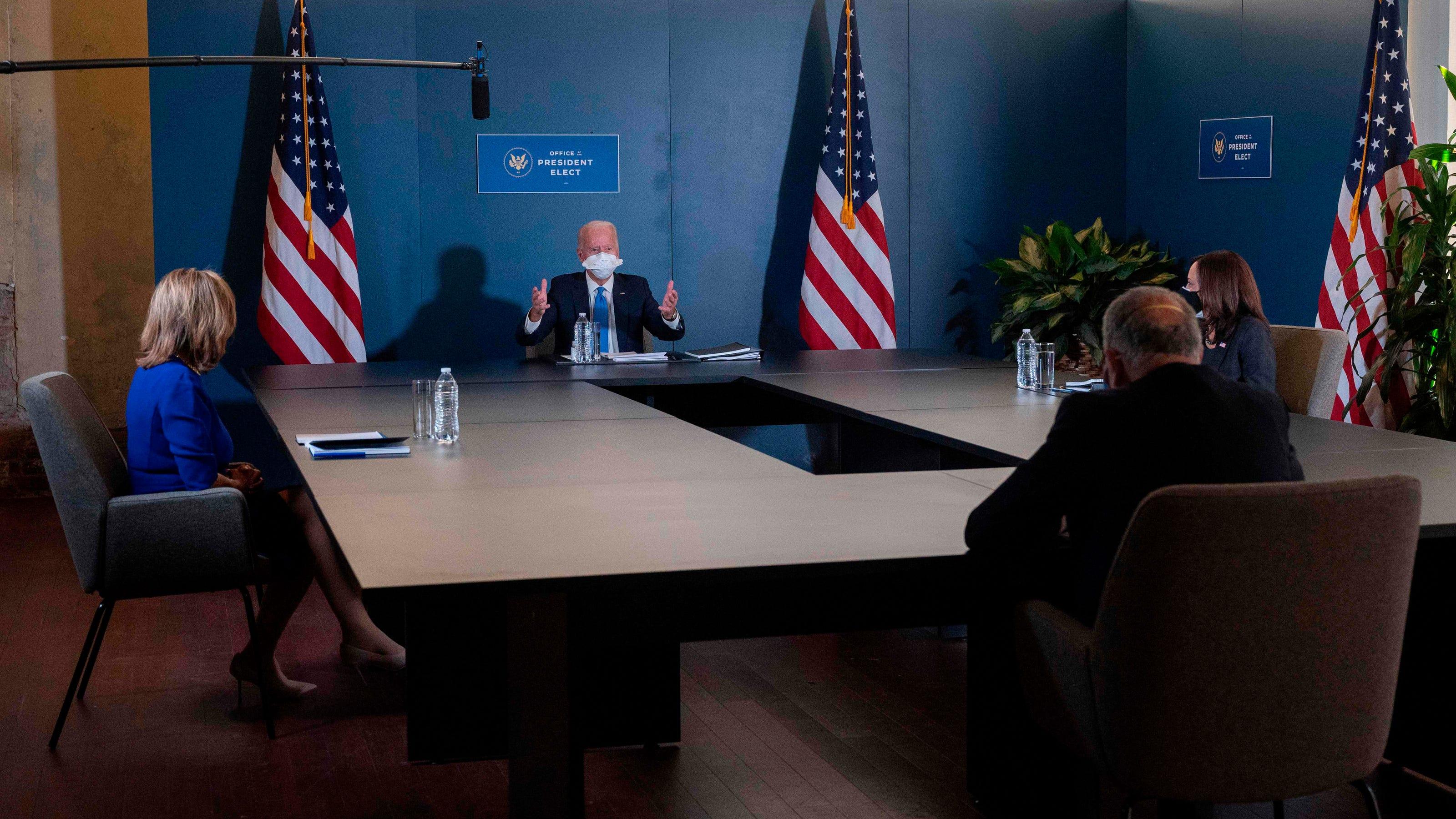 Biden, leading Democrats on board with the new $908 billion bipartisan stimulus proposal