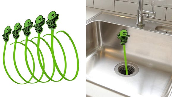 This snake tool is here to save your drains.