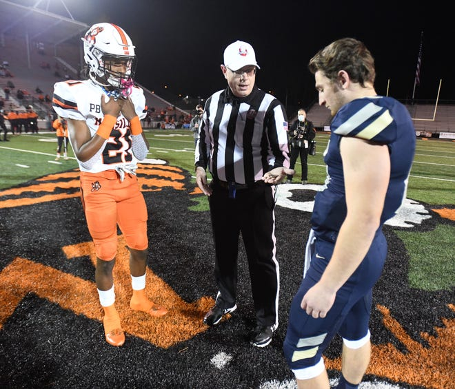 The Massillon Tigers and Hoban Knights played for the Ohio high school football Division II state championship Friday at Paul Brown Tiger Stadium.  (IndeOnline.com / Kevin Whitlock)