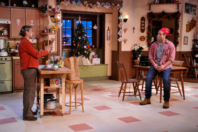 "The IceHouse Theatre in Mount Dora is in the middle of a five-week run of the holiday comedy ""Miracle on S. Division Street""."