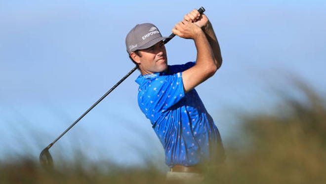 Robert Streb has led the RSM Classic in all three rounds so far this week at Sea Island.