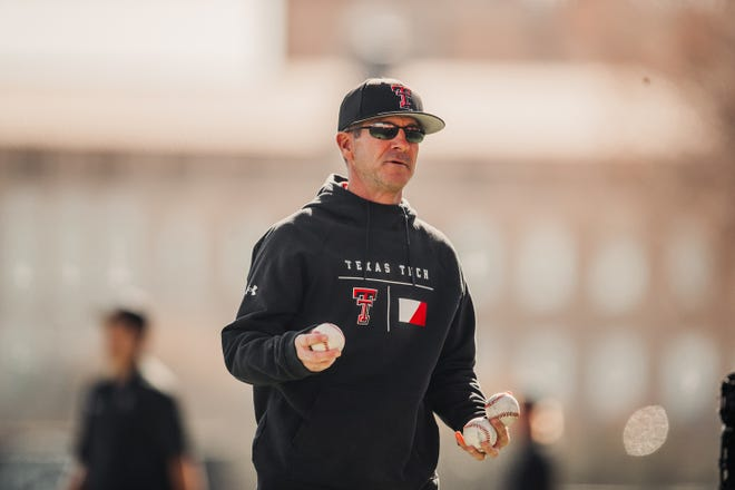 Texas Tech coach Tim Tadlock and the Red Raiders begin the season Feb. 19-21 facing three Southeastern Conference teams at the College Baseball Showdown. The three-day, six-team event takes place at Globe Life Field, the Texas Rangers' new stadium in Arlington.