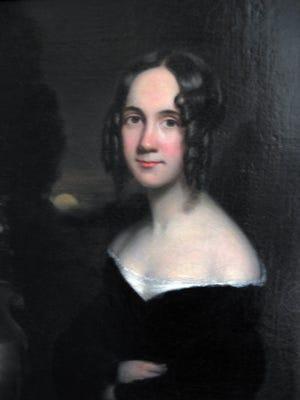 An 1831 portrait of Sarah Josepha Hale by James Reid Lambdin.