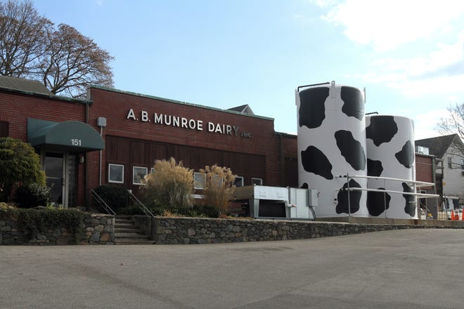The Munroe Dairy company on North Brow Street in East Providence is now the site of a retail store.