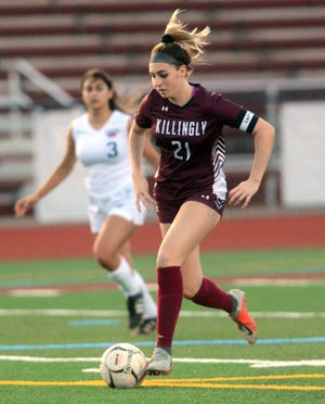 Killingly's Abbie Burgess finished her career with a school record 75 goals.