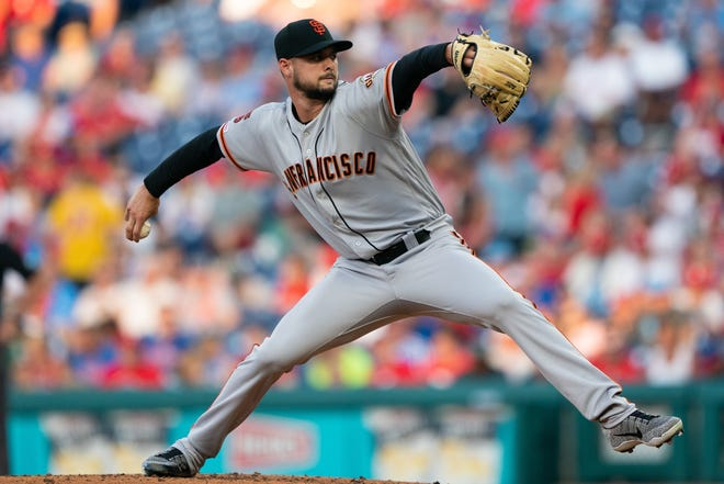 San Francisco's Tyler Beede is on track with his recovery from Tommy John surgery and should be a big part of the Giants plans next season.