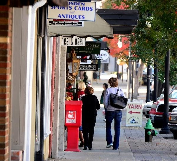 Small businesses such as the ones that participate in Gadsden's annual Small Business Saturday currently have the opportunity to apply for Small Business Administration loans to help out during the pandemic.