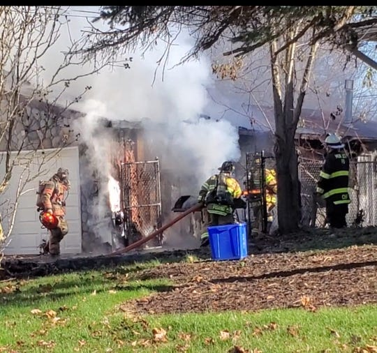 A South Brunswick house on Richford Road was damaged in a Friday afternoon fire. There were no injuries and the cause is currently under investigation.