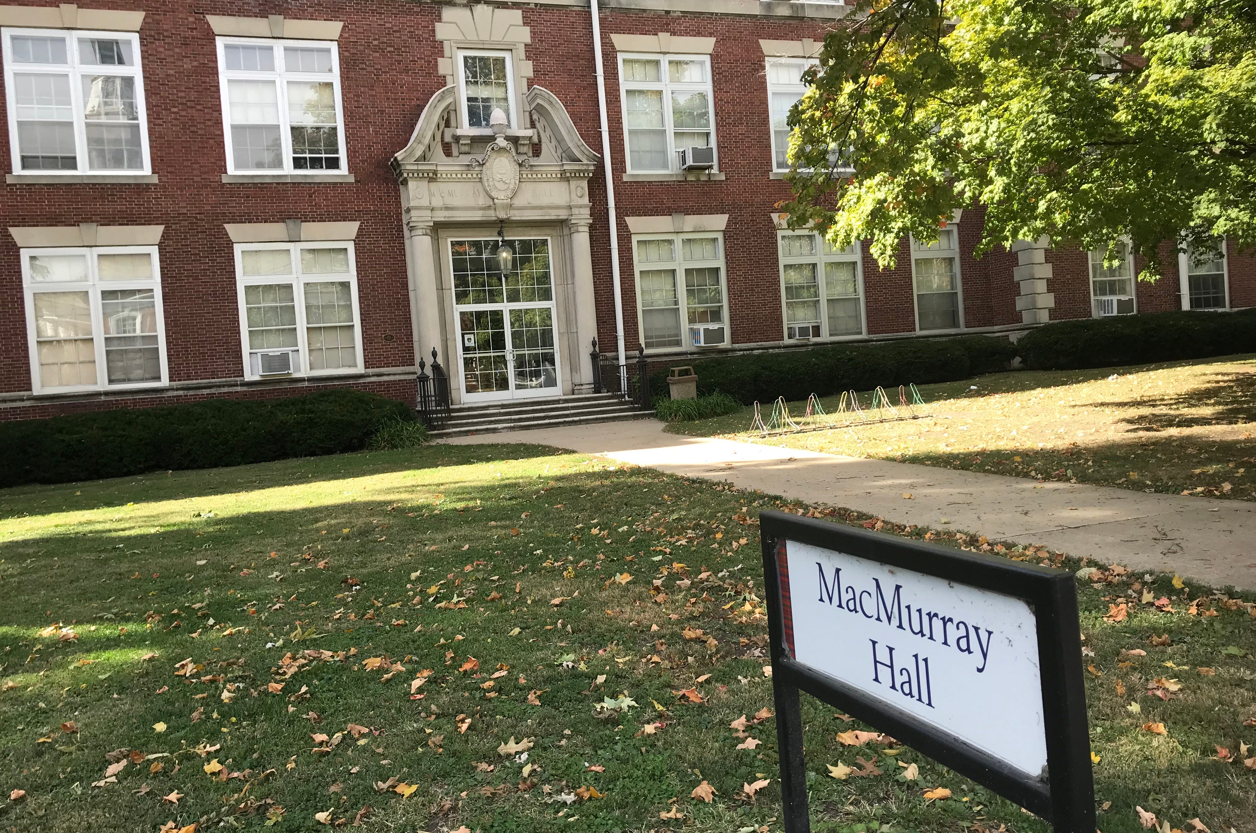"""MacMurray Hall was dedicated on commencement day in 1928 and Jane Addams, the """"Mother of Social Work,"""" delivered her speech """"Efforts Toward World Peace"""" at the event, according to the MacMurray College web site."""