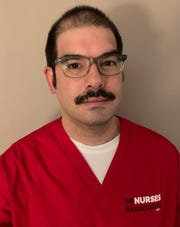Eric Kumor is a nurse at Sparrow Hospital in Lansing.