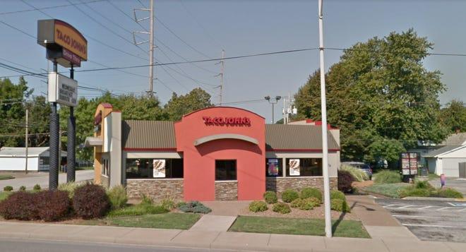 Google Streetview capture of Taco John's at 604 N. St. Joseph Ave. in Evansville