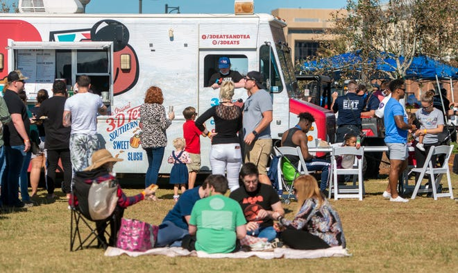 The 3-D Eats truck is one of the many scheduled to be in attendance on Sunday at the Fall Food Truck Fest.