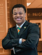 DeAundre Newsome, junior, Florida A&M University