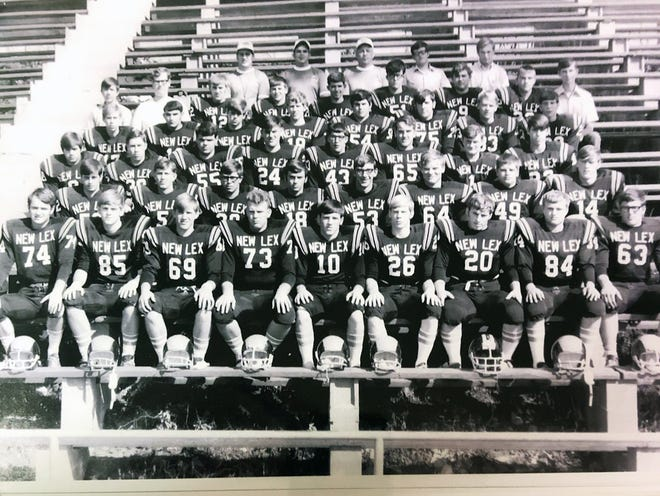 New Lexington's 1970 football team allowed just 2.8 points per game en route to winning a Class AA state championship.