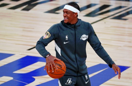 Rajon Rondo leaves Los Angeles after agreeing to a two-year deal with the Atlanta Hawks.