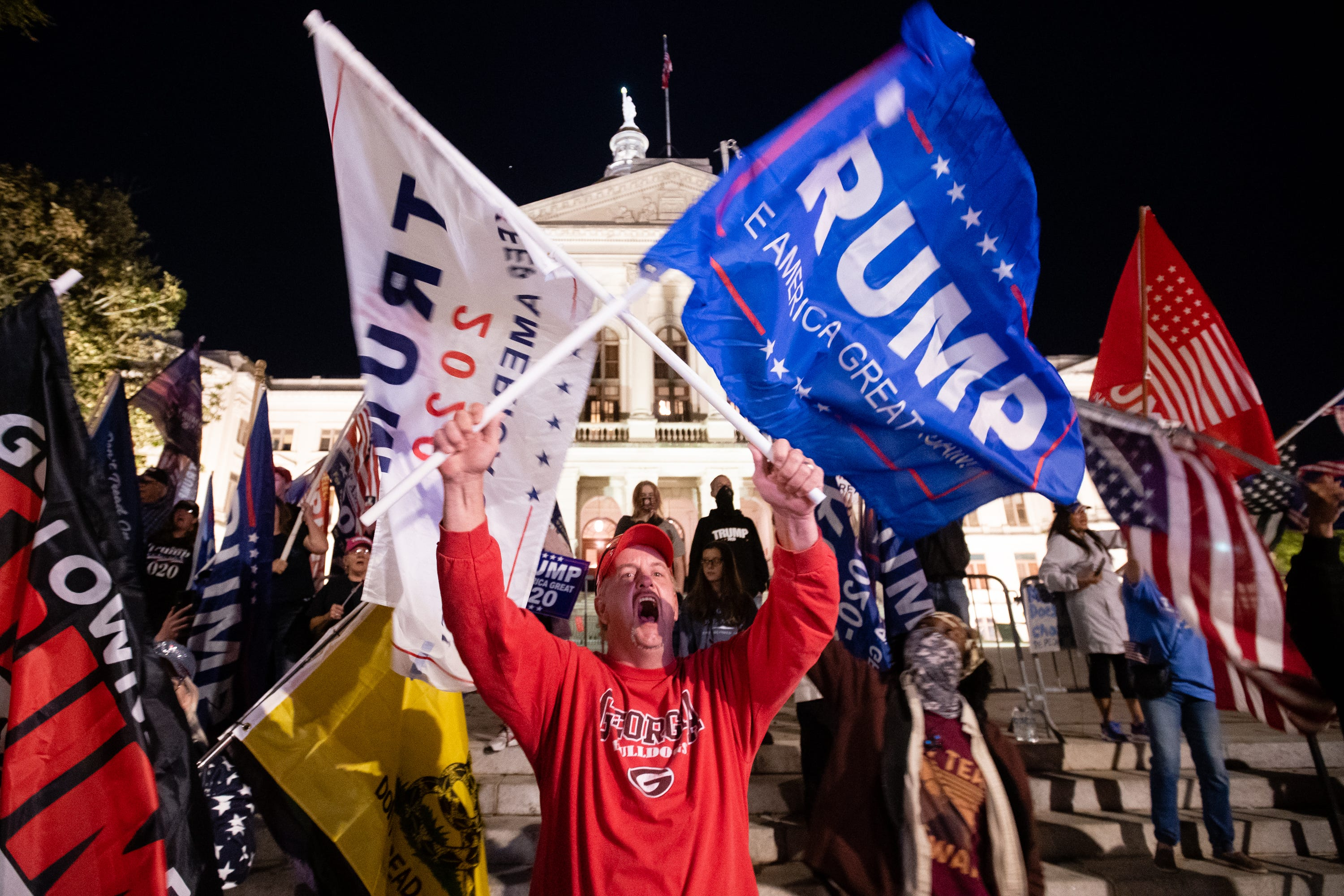 Censorship or conspiracy theory? Trump supporters say Facebook and Twitter censor them but conservatives still rule social media