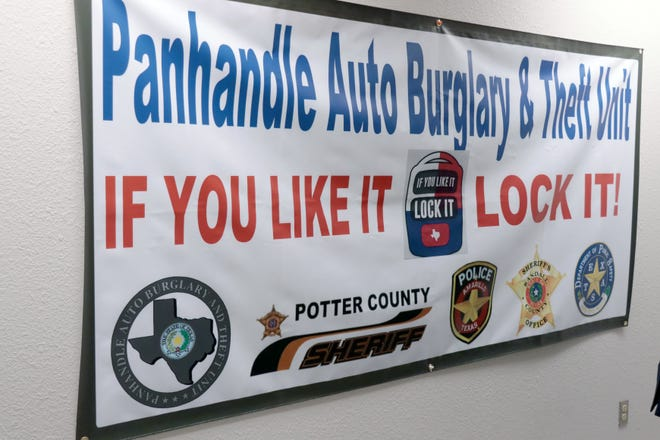 Officials said the Panhandle Auto Burglary and Theft Unit consists of investigators from the Potter County Sheriff's Office, the Randall County Sheriff's Office, theAmarillo Police Department and theDepartment of Public Safety.