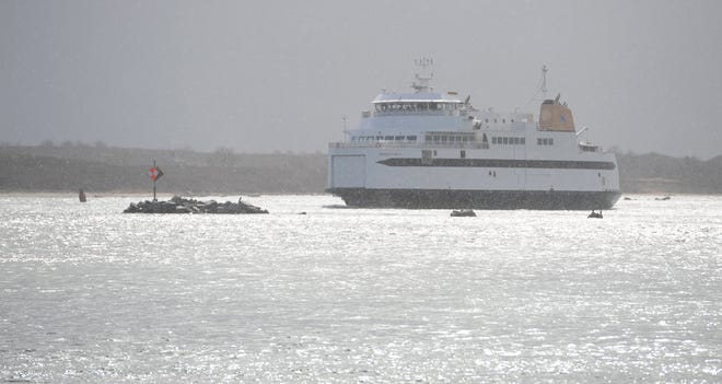 A Steamship Authority employee assigned to the M/V Woods Hole has tested positive for COVID-19, the ferry line said Sunday.