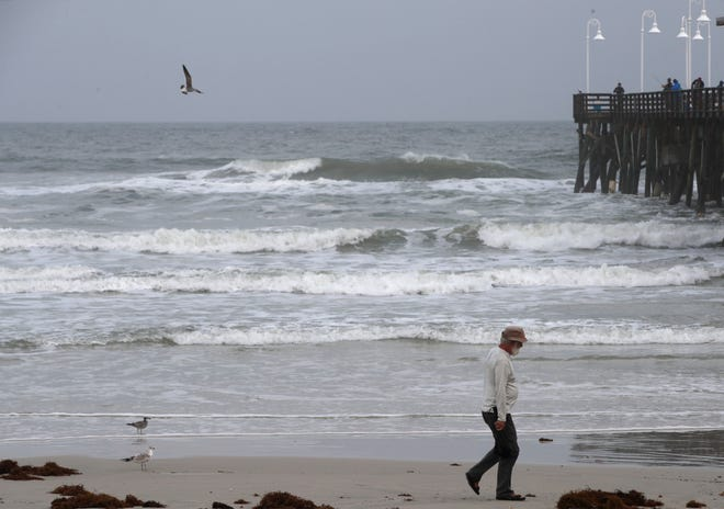 Spring-like weather is forecast this week, as a cold front brings drier air to Volusia County.