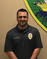 Cpl. Ralph Hunnefeld of the New Smyrna Beach Police Department was shot Saturday in the leg by a Holly Hill felon fleeing from a traffic stop. Hunnefeld is recovering at home from a non-life threatening injury.